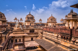 Well preserved Gwalior Fort complex seen on a guided visit while on our Madhya Pradesh Trip
