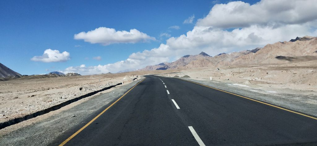 Highways of Ladakh , one of the most pleasurable road trips of India