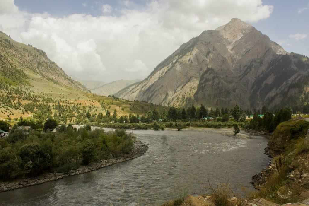 Habba Khatoon Mountain as seen on our Gurez Valley Trip