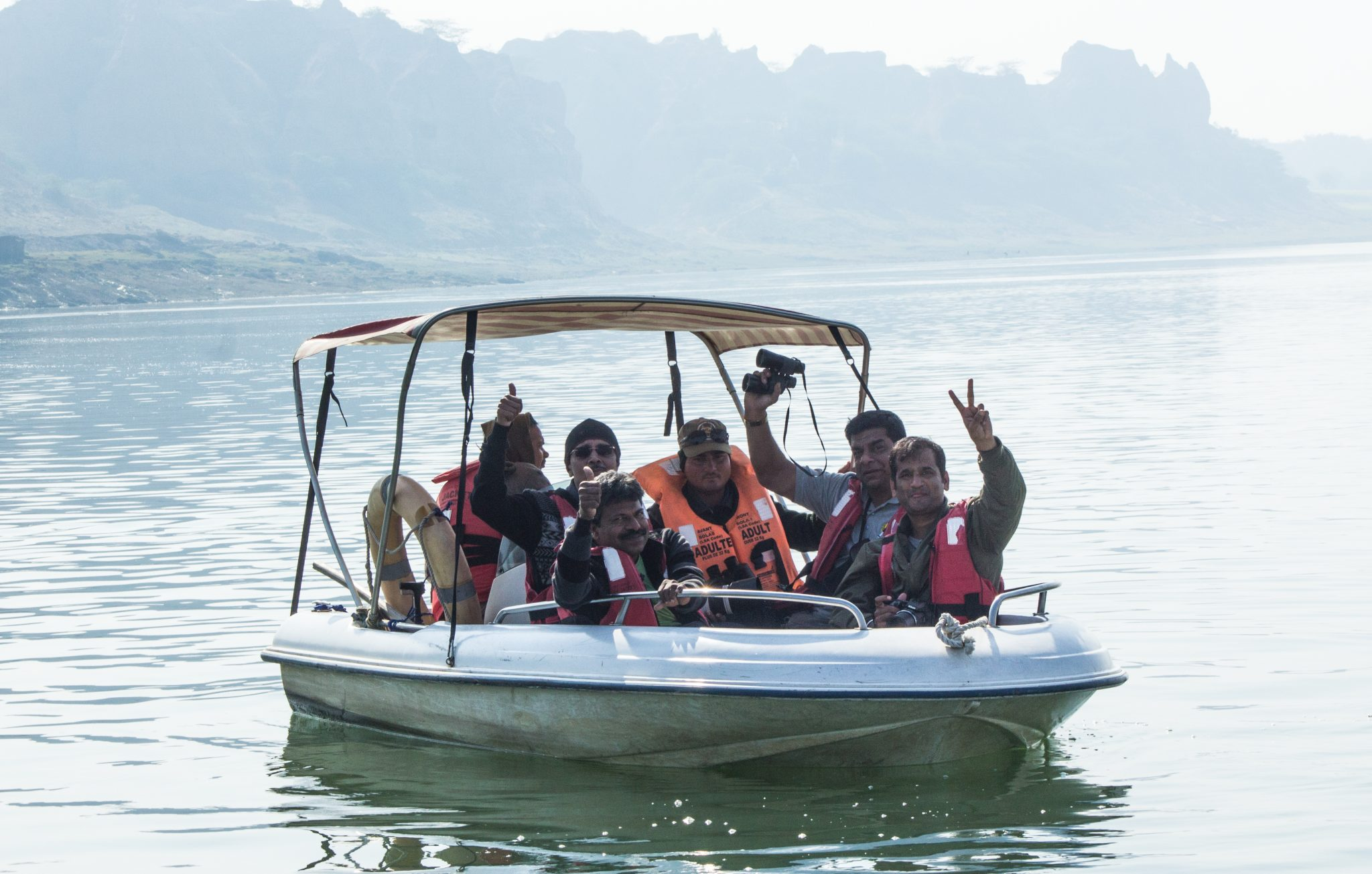 Boat safari of Chambal river