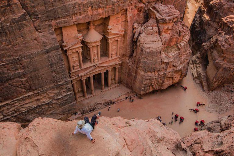 Timeless moments in Petra, Jordan