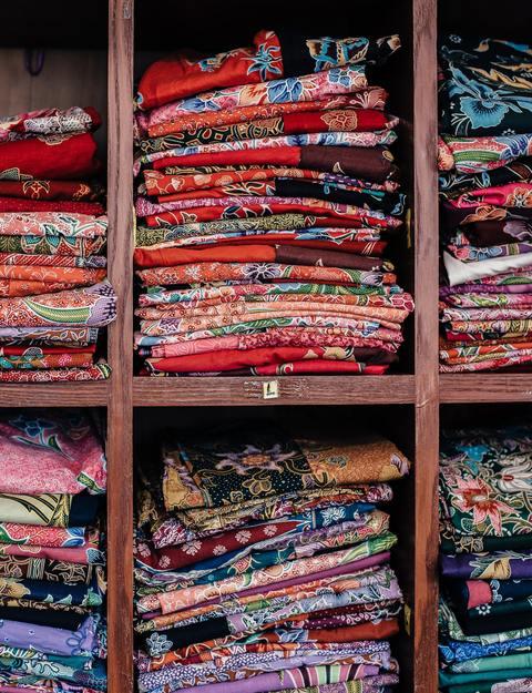 Handmade colourful fabrics of Kutch , explored on our Gujarat Trip