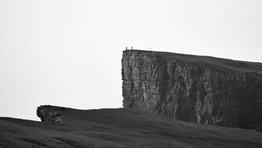 the soaring sea cliffs we observe on our Faroese Journeys