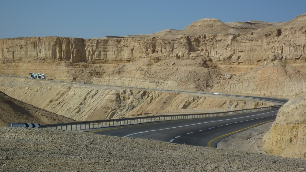 Riding the Kings Highway on our Jordan Trip