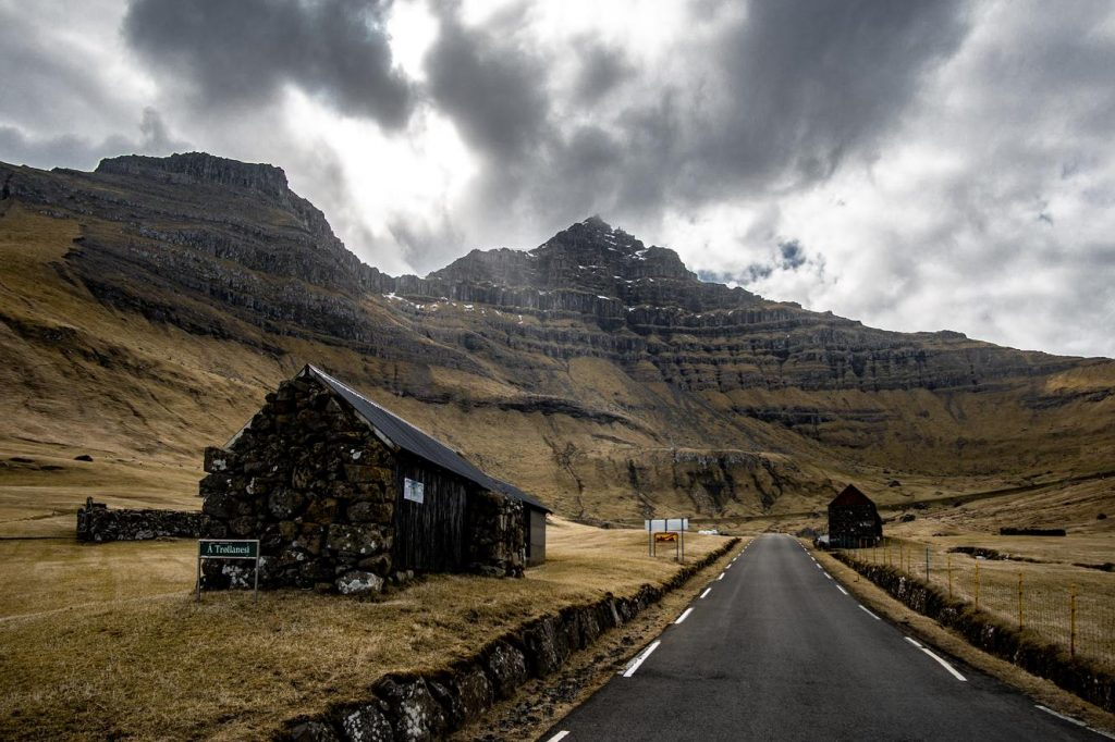 Road scenes we expect while driving on our Faroese Journeys