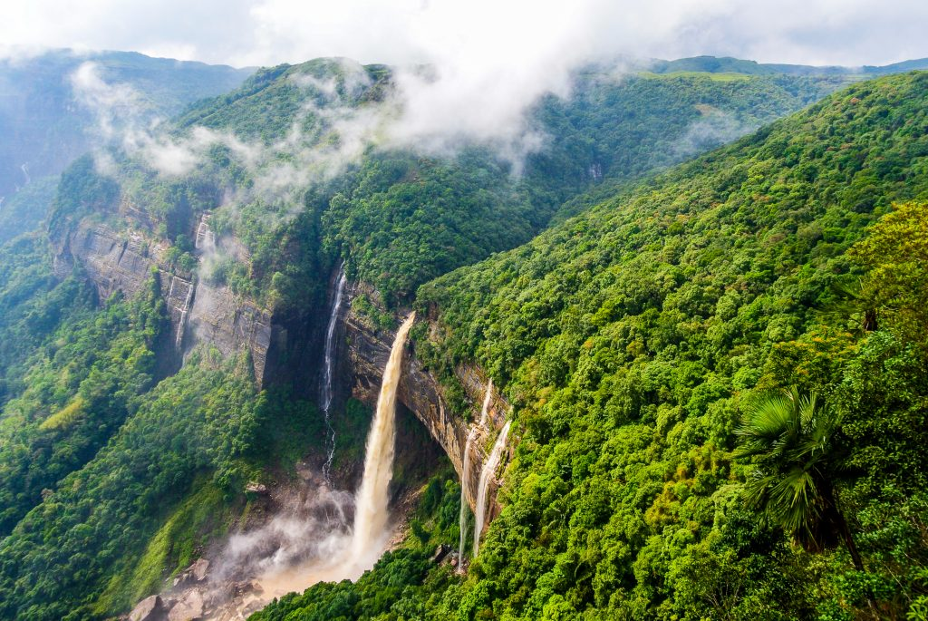 Meghalaya , a waterfall lovers paradise