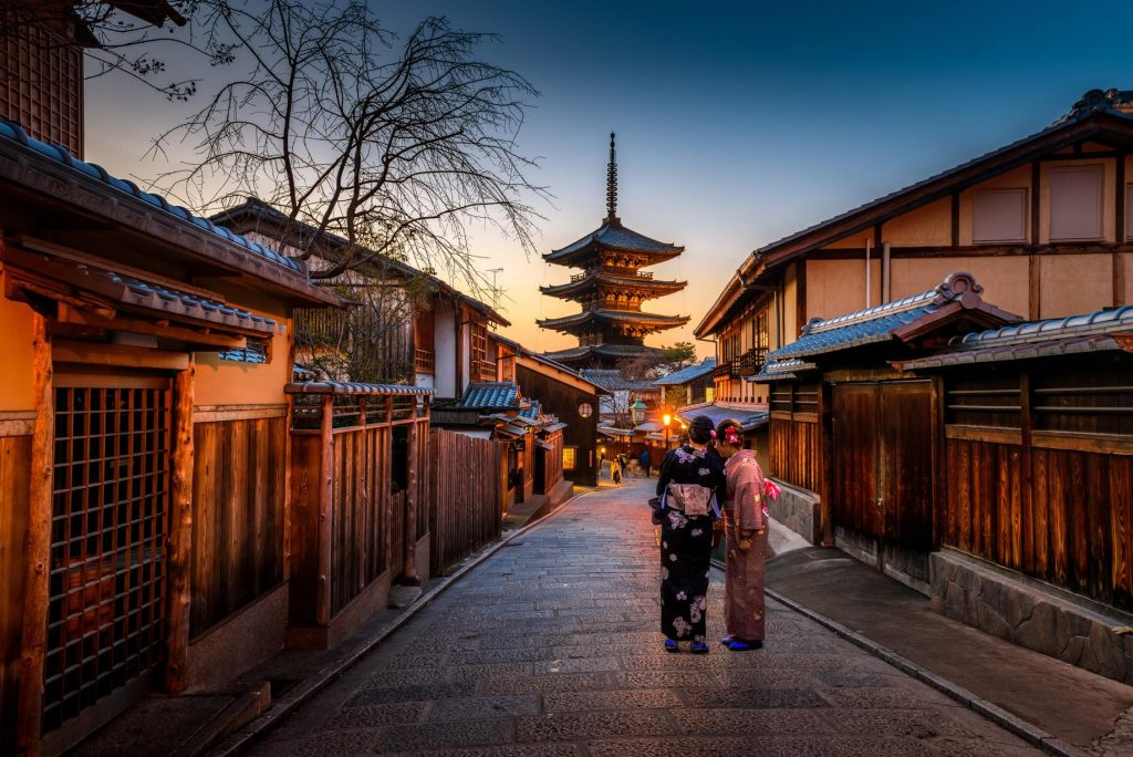 The Giesha's of Kyoto on our Japanese Trip