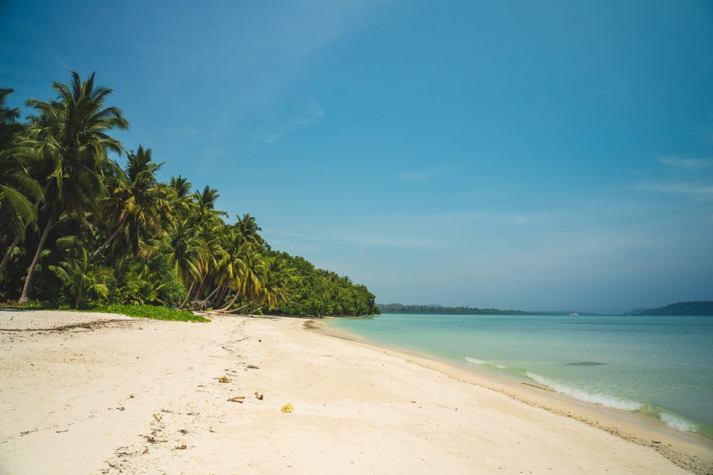 Deserted beaches we visit on our Andaman Experience