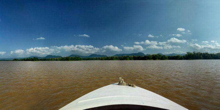 Vast backwaters of Satpura