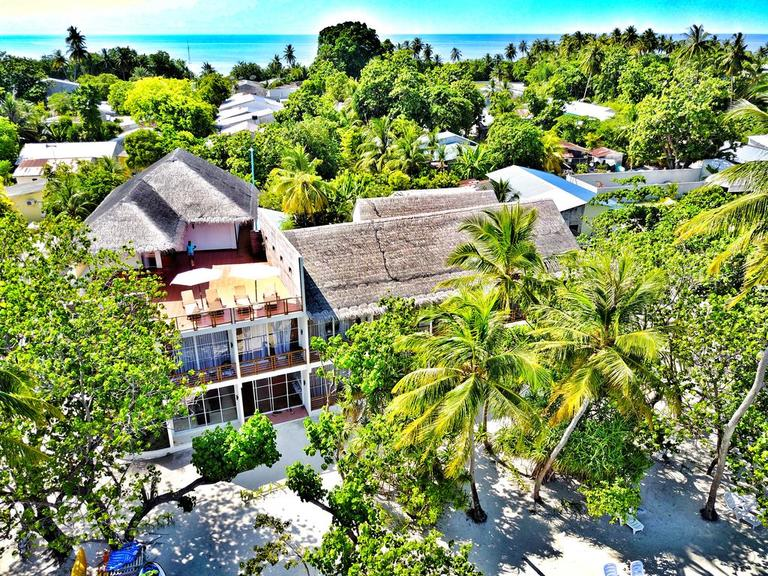 Dhigurah has some of the best guesthouses in Maldives on offer