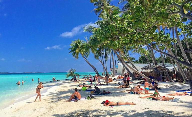 Bikini Beach at Maafushi
