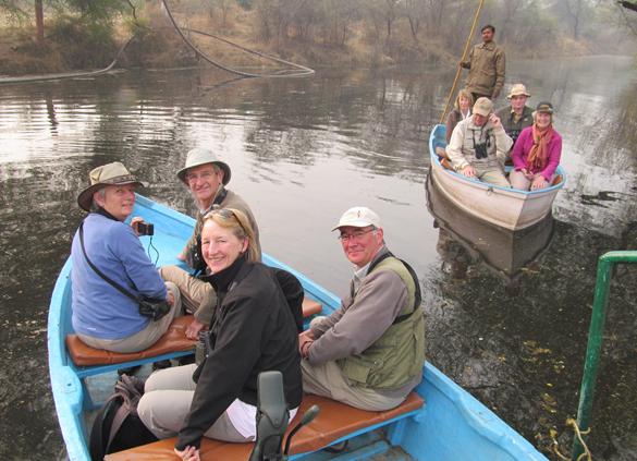 Boating at Bharatpur