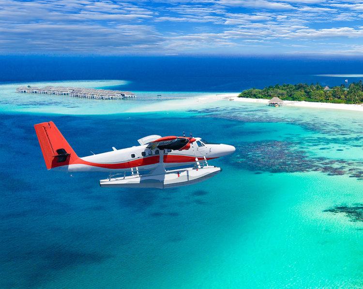 Sea Plane - Maldives Travel Guide