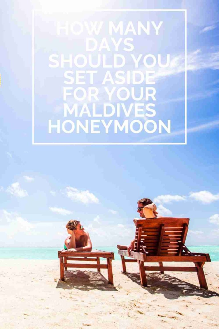How many days for your Maldives Honeymoon