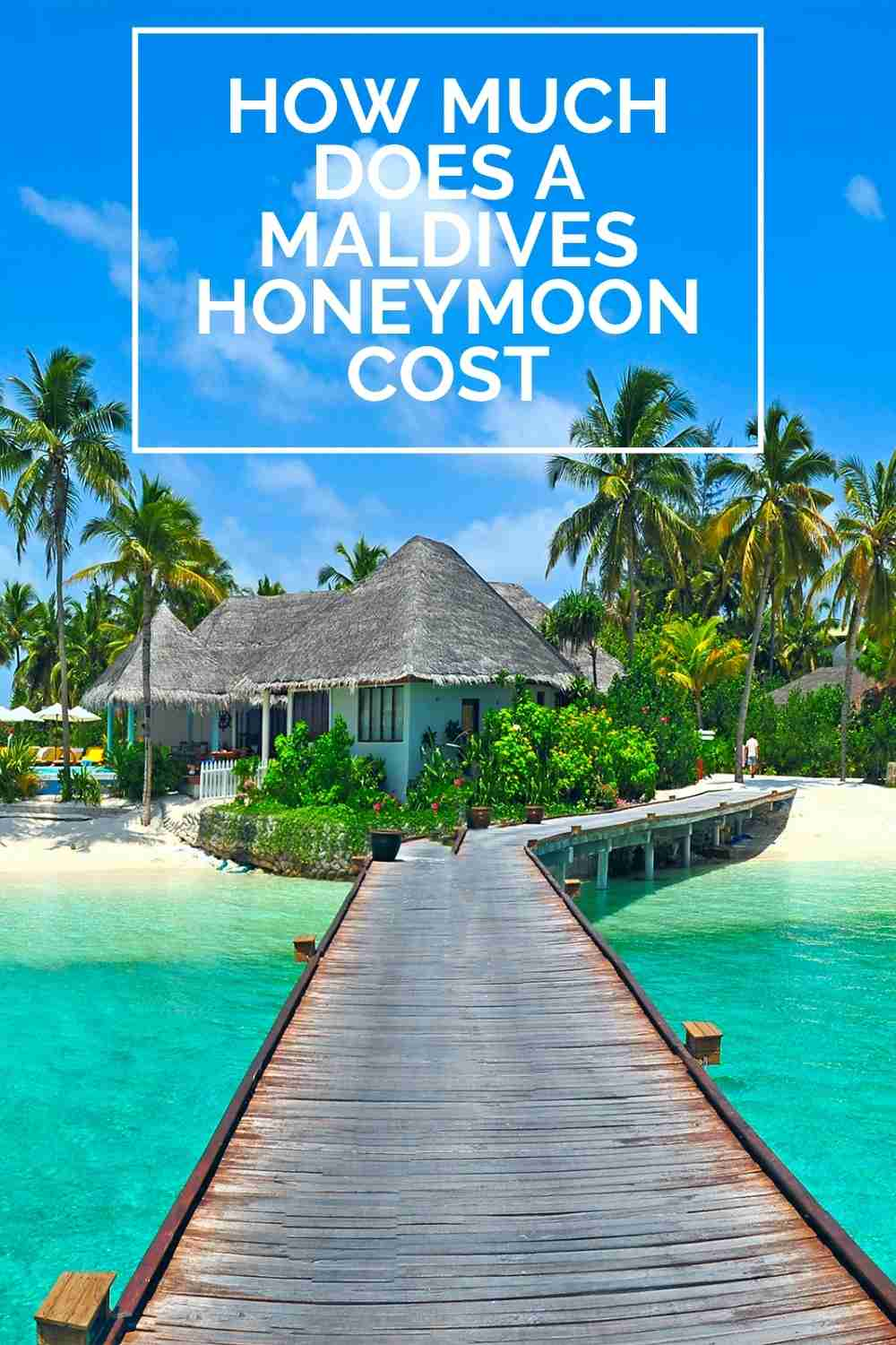 How much does a Maldives honeymoon cost